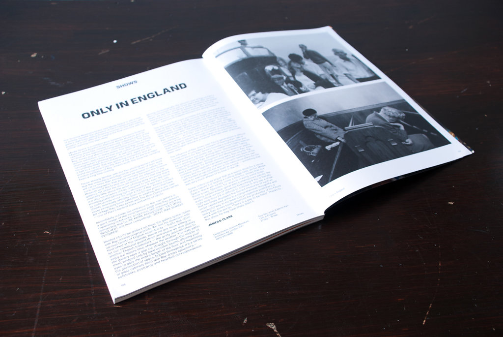 Only In England: Tony Ray-Jones & Martin Parr, Exhibition Review. Hotshoe Magazine, November 2013