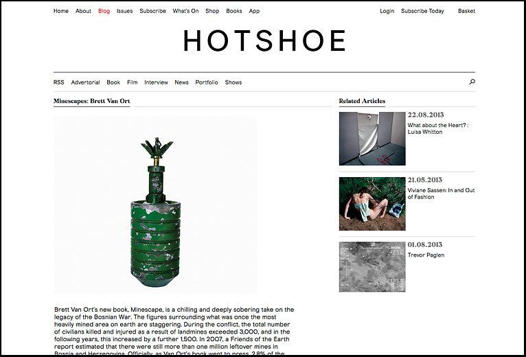 Brett Van Ort book review, Hotshoe, Summer 2013