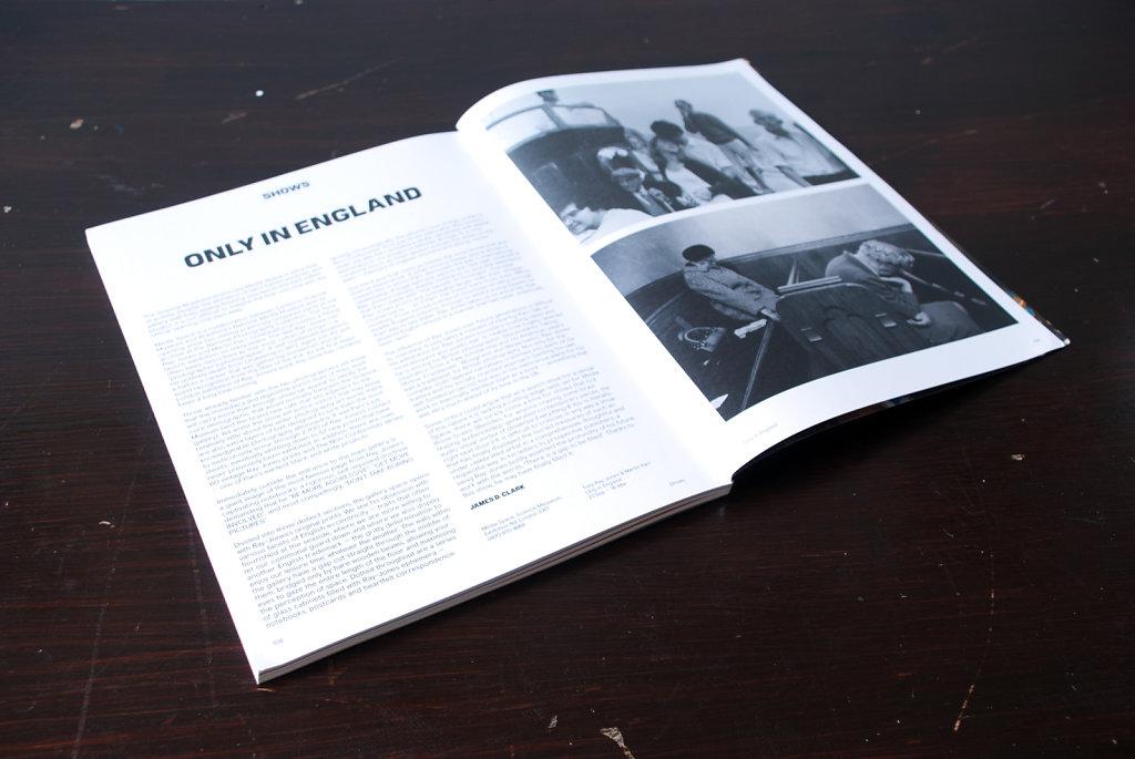 Only In England: Tony Ray-Jones & Martin Parr, Exhibition Review. Hotshoe Magazine, November 2013